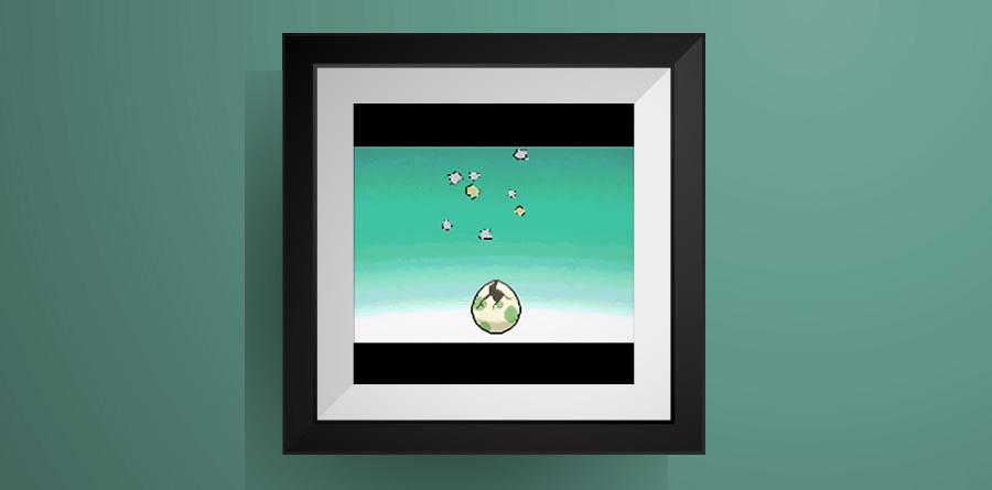 ポケモンのタマゴのアイロンビーズ図案!【ポケモン】Pokemon Egg